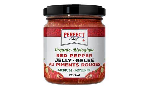 Organic Red Pepper Jelly- Code#: SP0216