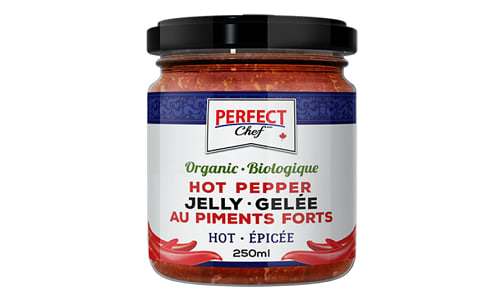 Organic Hot Pepper Jelly- Code#: SP0218