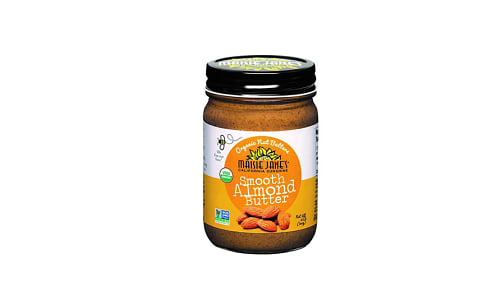Organic Smooth Almond Butter- Code#: SP0238