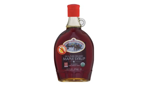 Organic Dark Maple Syrup, Robust- Code#: SP0247