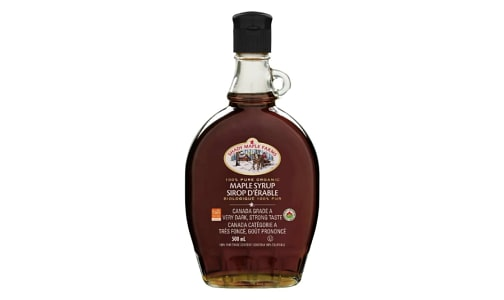 Organic Very Dark Maple Syrup, Robust- Code#: SP0248