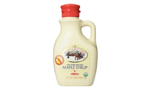 Organic Dark Maple Syrup, Robust- Code#: SP0253