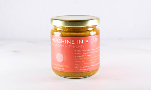 Organic Sunshine in a Cup - Spiced Honey- Code#: SP0276