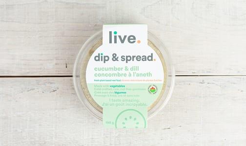 Organic Cucumber Dill Spread- Code#: SP0279