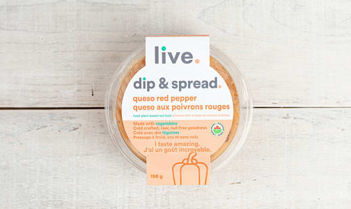 Organic Queso Red Pepper Spread- Code#: SP0282