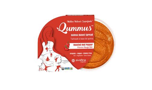 Organic Qummus - Roasted Red Pepper- Code#: SP0382
