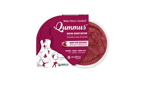 Organic Qummus - Beet and Balsamic- Code#: SP0383