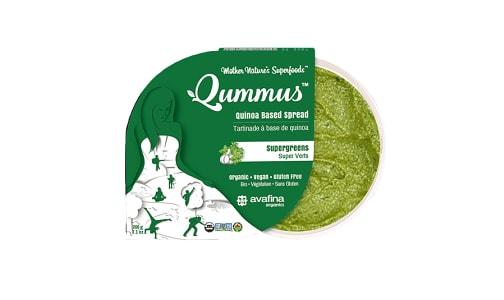 Organic Qummus - Supergreens- Code#: SP0384