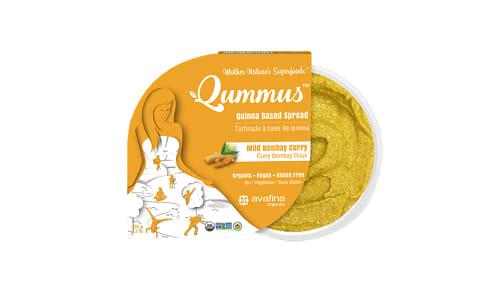 Organic Qummus - Mild Bombay Curry- Code#: SP0385