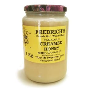Creamed Honey - Canada's #1 White Unpasteurized/Raw Honey- Code#: SP1005