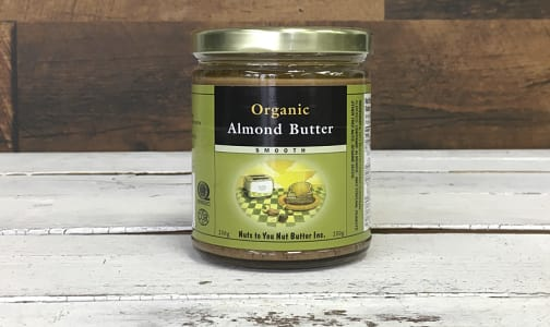 Organic Smooth Almond Butter- Code#: SP103