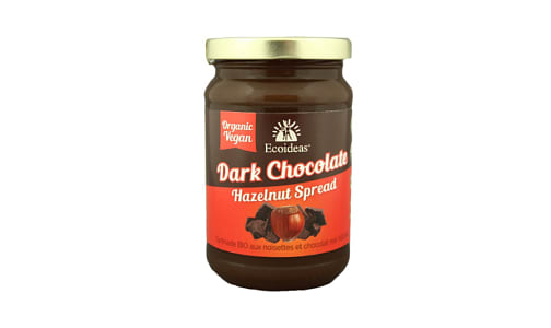 Organic Dark Chocolate Spread- Code#: SP1294