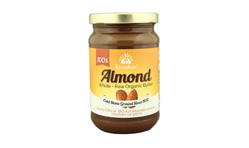 Organic Whole Almond butter- Code#: SP1296