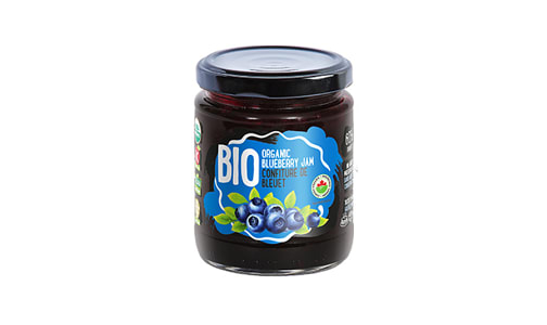 Organic Blueberry Jam- Code#: SP1308
