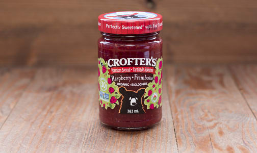Organic Raspberry Premium Fruit Spread- Code#: SP402