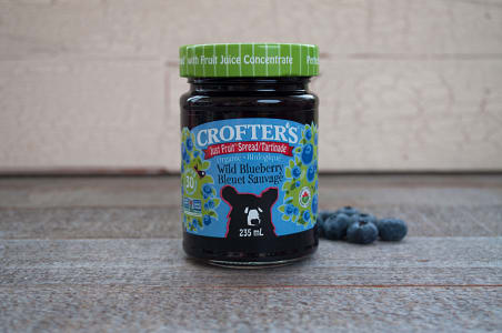 Organic Wild Blueberry Spread (Non-GMO Certified)- Code#: SP408