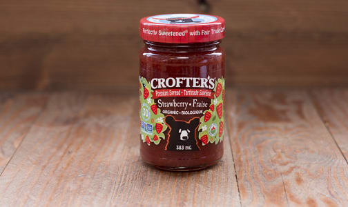 Organic Strawberry Premium Fruit Spread - Family Size (Non-GMO Certified)- Code#: SP601