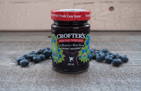 Organic Wild Blueberry Premium Spread- Code#: SP606