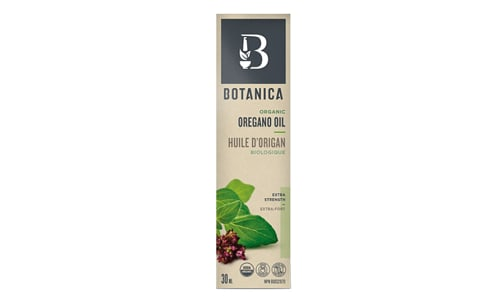 Organic Oregano Oil Extra Strength 1:1 (Certified)      - Code#: TG077