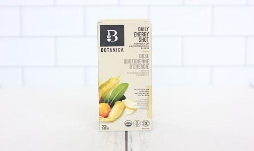 Organic Daily Energy Shot – Fermented Ashwagandha- Code#: TG085
