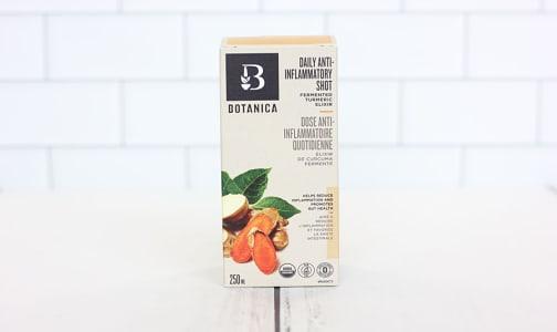 Organic Daily Turmeric Elixir Anti-Inflammatory Shot- Code#: TG087