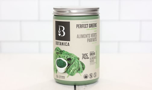 Organic Perfect Greens - Unflavoured (Certified Organic)- Code#: TG126