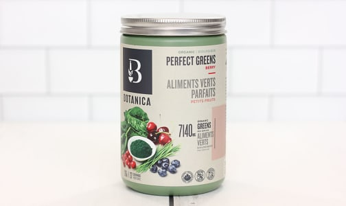 Organic Perfect Greens - Berry (Certified)- Code#: TG127