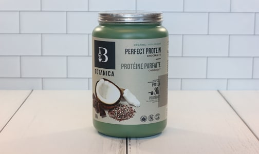 Organic Perfect Protein (Certified, Vegan) - Chocolate- Code#: TG131