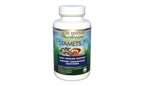 Organic Stamets 7 Capsules- Code#: TG141