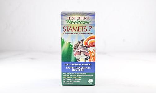 Organic Stamets 7 Capsules- Code#: TG142