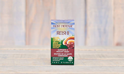 Organic Reishi (Ganoderma Lucidum) Capsules- Code#: TG143