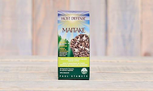 Organic Maitake (Grifola Frondosa) Capsules- Code#: TG145