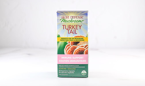 Organic Turkey Tail (Trametes Versicolor) Capsules- Code#: TG146