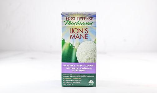 Organic Lion's Mane (Hericium Erinaceus) Capsules- Code#: TG148