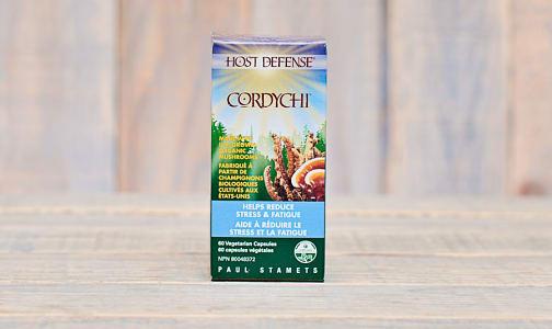 Organic Cordychi Capsules (Reishi & Cordyceps)- Code#: TG152