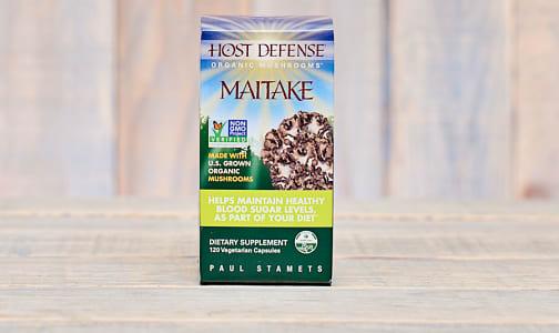 Organic Maitake (Grifola Frondosa) Capsules- Code#: TG179