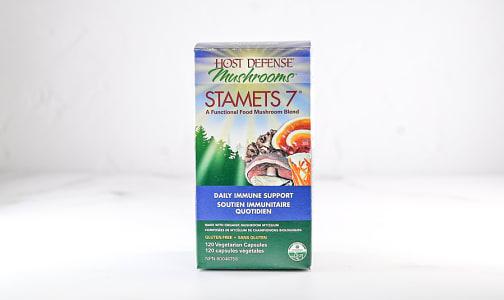 Organic Stamets 7 Capsules- Code#: TG182