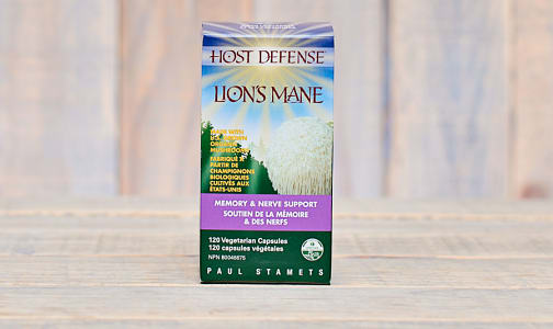 Organic Lion's Mane (Hericium Erinaceus) Capsules- Code#: TG183