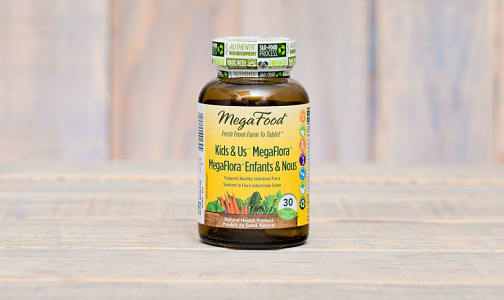 Kids & Us MegaFlora (5 billion active probiotics)- Code#: TG222