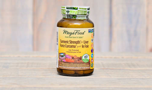 Turmeric Strength for Liver- Code#: TG256