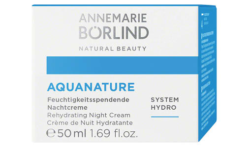Aquanature Hydrating Night Cream- Code#: TG995