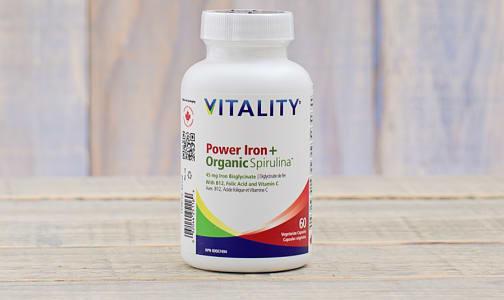 Organic Power Iron + Spirulina- Code#: VT0028