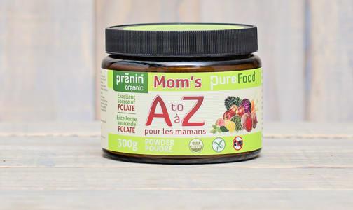 Organic A to Z Pre & Post Natal Multivitamin- Code#: VT0031