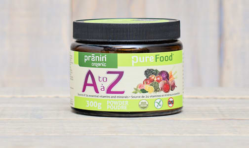 Organic Purefood A to Z Multivitamin- Code#: VT0032