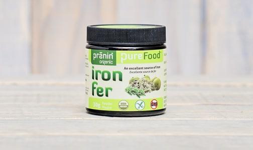 Organic Purefood Iron- Code#: VT0035