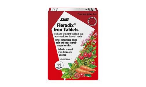 Floradix®Iron Tablets- Code#: VT0073