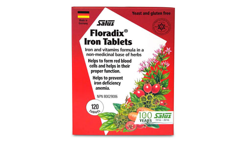 Floradix® Iron Tablets - Code#: VT0073