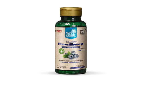 Blueberry Pterostilbene Nx with Teroyouth- Code#: VT0095
