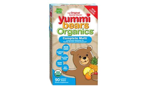 Organic Yummi Bears - Multi-Vitamin- Code#: VT0256