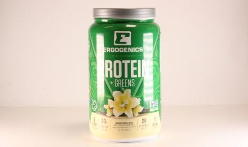 Organic Plant Protein + Greens - Vanilla- Code#: VT0263